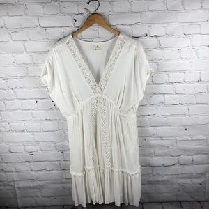 O'Neill | Creme Lace Cover Up sz XL